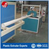 Ligne pipe en plastique de gaz de PVC faisant la machine