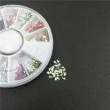 12 Color Drop Crystal DIY Nail Decoration OEM et ODM