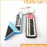 De PVC LLAVERO DE GOMA personalizados para empresas regalos (YB-PK-09).