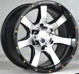 """4X4 SUV車の合金の車輪は15 """" - 22inch 6X139.7 5X139.7に縁を付ける"""
