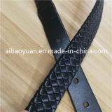 Leather van dame Dress Accessories Reconstituted vlechtte Riem
