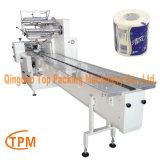 Toilettenpapier-Verpacken-Maschinerie-gesundheitliche Gewebe-Verpackungsmaschine