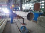 Tuyau à fente sans soudure en acier inoxydable avec Ce en usine
