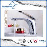 Robinet de robinet mélangeur de cuvette en laiton et cuisinière en laiton (AF2261-6)