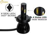 방수 IP68 LED 맨 위 가벼운 장비 전구 램프 H1 H3 880 881