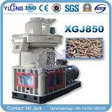 Yulong Xgj850の縦のリングは機械を作るタイプ木製のおがくずの餌を停止する