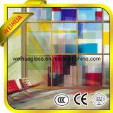 편평했던 4-19mm는/세륨/ISO9001/CCC를 가진 색을 칠한 유리제 위원회를 구부렸다
