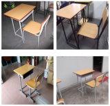 High School estudo conjunto de mesa e cadeira
