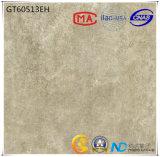 600X600 de cerámica de materiales de construcción de la absorción de color gris claro a menos de 0,5% Baldosa (GT60513) con la norma ISO9001 e ISO14000