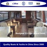 Barco de patrulha de Bestyear 13.59m