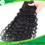 Estensione brasiliana dei capelli umani dei capelli ricci di Remy del Virgin di prezzi di fabbrica