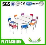 Baby el diseño de muebles mesa plegable y mesa de trabajo (SF-38C)