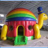 Tortoise gonfiabile Bounce per Kids con Jumping Castle