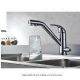 Легко установите Faucet воды держателя палубы Faucet кухни одиночная, котор ручка вытягивает вне Faucet раковины