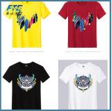T-shirt estampé pour le T-shirt fait sur commande de coton de promotion