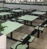 Дешевые 4-местный ресторан быстрого питания стол и стул