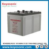 Batería de energía solar de plomo sellada del AGM del almacenaje de 2V 800ah