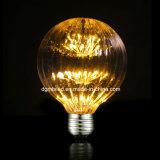 명확한 가득 차있는 유리 E14 2W LED 필라멘트 전구 E26/E27