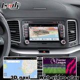 Navigation 4.4 des Android-5.1 für Schnittstellen-Aufsteigen-Noten-Navigation WiFi BT Mirrorlink HD 1080P Google VW-Tiguan Sharan Passat Mqb video Karten-Spiel-Speicher