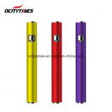 Ocitytimes preriscalda la batteria della penna di Vape dell'oro della batteria S3 Rosa della E-Sigaretta di Cbd