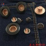 Knoop van de Jeans van de Stijl van het Denim van het Ijzer van de Douane van de manier de Uitstekende voor Broek