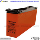 Libre de mantenimiento de ciclo profundo 12V 150Ah batería solar Gel