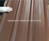 El tipo azotea grabada del diamante de PPGI cubre el panel acanalado del material para techos de PPGL