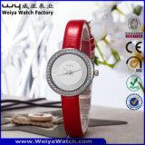 형식 주문 로고 석영 시계 우연한 숙녀 손목 시계 (WY-090B)