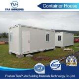 Chambre portative de conteneur de coût bas de 20FT pour le camp de travail