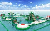 Gioco di galleggiamento dei giochi dell'acqua della grande sosta gonfiabile dell'acqua in acqua