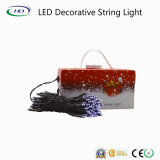 Luz decorativa da corda do Natal do diodo emissor de luz da energia nova