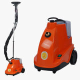 Servicio de lavandería Plancha Vertical Automática máquina de vapor de prendas de vestir de tejido