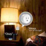 Slimme Stop van de Contactdoos van de Afstandsbediening van de Stroom WiFi van Alexa de Mini