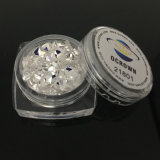 3D, forme en diamant Glitter en vrac de flocons de décoration holographique