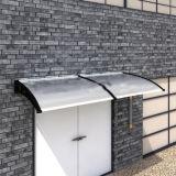 Muur van de Prijs van de fabriek zet de Anti UV Buiten de Schaduw van de Zon van het Polycarbonaat op