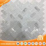 南アフリカの市場の氷のひびガラスおよび石のモザイク・タイル(M424001)