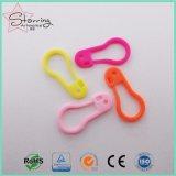 22mm sortierte Farben Plastic Birnen-geformte Sicherheit Pins für hängende Marke