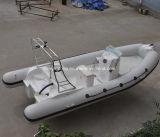 PVC/Hypalon Boot 520cm van de Rib van Hull van de Glasvezel van de Buis Opblaasbare