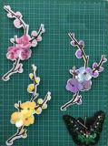 Accessorio +Beads+Sequin 003 dell'indumento del fiore della zona del ricamo