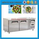 Refrigerador comercial eléctrico de la barra de ensalada para la venta