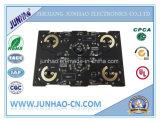 2layer 까만 Fr 4 두 배 측 PCB 제조