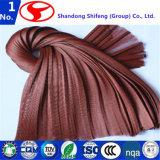 Tela de nylon de la cuerda del neumático usada en el refuerzo para la tela de goma del trazador de líneas del filamento del acoplamiento de la casa/del poliester Yarn/PP/la cadena impresa de la tela/de producción/la cuerda del neumático radial