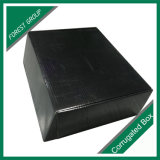 Het zwarte Glanzende Verpakkende Vakje van het Document van de Laminering