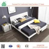 現代クイーンサイズの拡張可能な頭板の倍の木のベッド