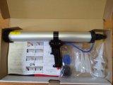 Cilindro de aluminio 600ml silicona neumáticas Pistola de pegamento pistola pulverizadora salchichas