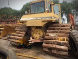 Bulldozer del trattore a cingoli di seconda mano/utilizzata D6h (D6h) per costruzione