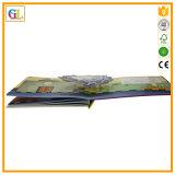 Impressão elevada do livro de crianças da placa de Qaulity