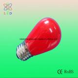 Bulbo G50 E27, bulbo por los 10m, lámpara multicolora de la muestra del LED de la cadena E27 40 del LED de la decoración de la cadena G50 del LED
