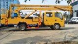 PaltformのトラックのFotonの油圧空気のバケツのトラックの油圧ビーム揚げべらを持ち上げる中国の高品質の高度操作で熱い2017年の販売