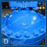 Válvula de puerta rusa de alta presión de levantamiento del vástago de Didtek Pn100